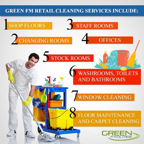 green FM retil cleaning